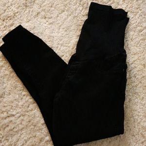 4/$13.00 Black maternity Jean's
